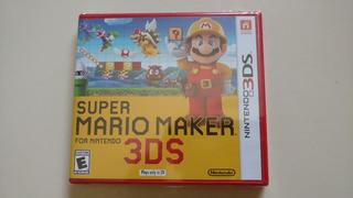 Super Mario Maker 3ds Sellado