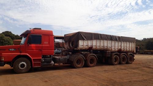 Imagem 1 de 12 de Scania 113 Ano 96 Com Caçamba Basculante Ls Randon 2002