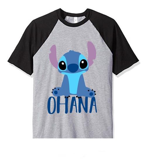 Remera Lilo & Stitch Ohana Niño Infantil