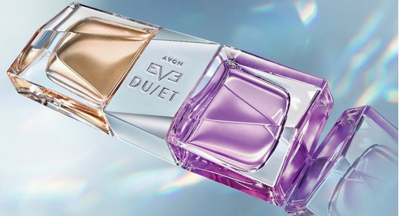 Lançamento Avon Perfume Eve Duet