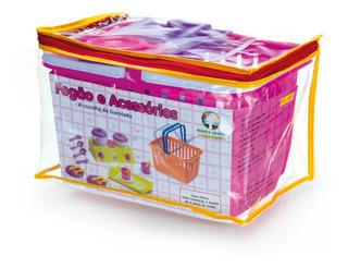 Brinquedo Educativo Fogao E Acessorios Monte Libano 4405