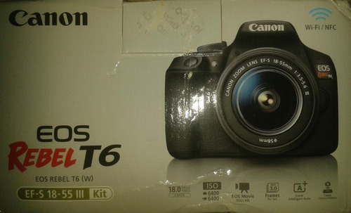 Canon T6 + 18-55mm