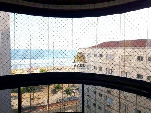 Imagem 1 de 30 de Apartamento Com 3 Dormitórios À Venda, 120 M² Por R$ 690.000,00 - Canto Do Forte - Praia Grande/sp - Ap1346