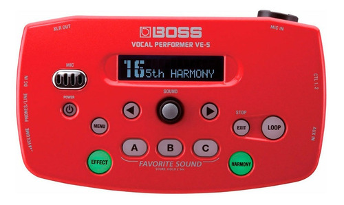Ftm Procesador Vocal Boss Ve5 Cuotas