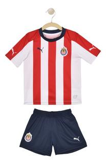 Playera Chivas - Puma - 752800 01 - Roja Niños