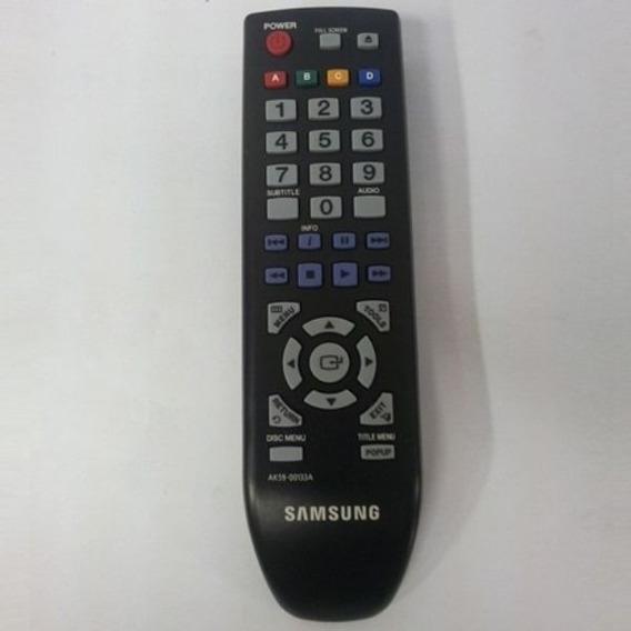 Controle Blu Ray Samsung Ak59-00133a Original + Pilhas