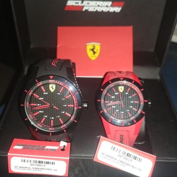 Relojes Para Pareja Scuderia Ferrari