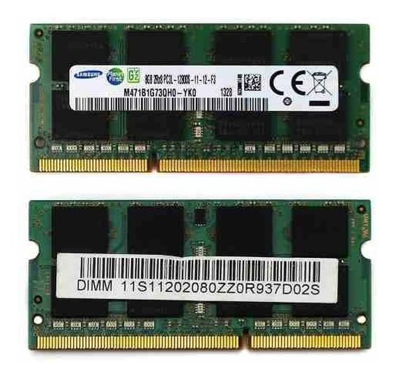 Memoria Notebook Samsung 8gb 1x8gb Ddr3l 14900 1866mhz 204pi