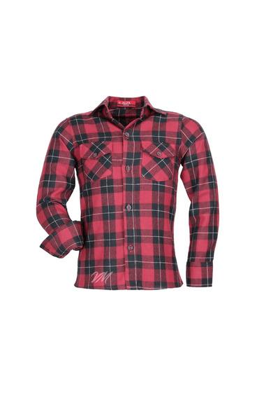 Camisa Infantil Alfa Tecido Algodão Xadrez Junino - Cor 03