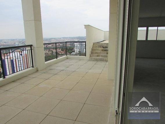 Apartamento Duplex Com 4 Dormitórios À Venda, 429 M² Por R$ 3.360.000 - Condomínio Único Campolim - Sorocaba/sp, Próximo Ao Shopping Iguatemi. - Ad0001