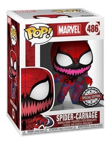 Funko Pop #486 Spider-carnage