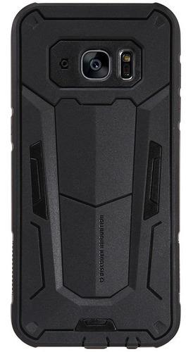 Imagen 1 de 7 de Carcasa Fuerte Nillkin Defender Ii Samsung S7 Edge, Negro