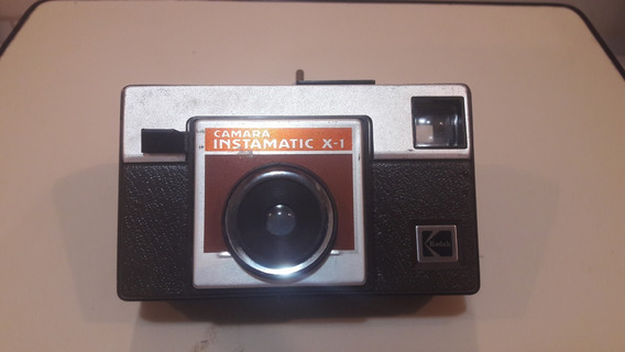 Camera Kodak Antiga - Instamatic X1 - Made In Usa