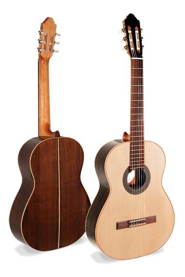 Guitarra Criolla Clásica Fonseca 50 Tapa De Pino - Oddity