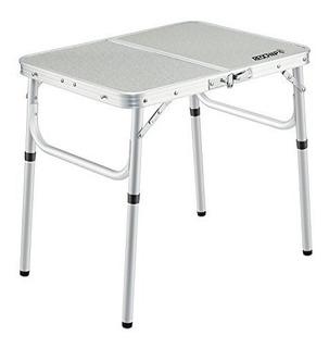 Mesa Plegable De Aluminio 2346 Altura Ajustable Portátil
