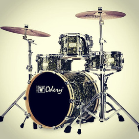 Bateria Odery Fluence Jazz Bumbo 20 . 10 14 E Caixa