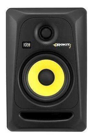Monitor Ativo Krk Rokit Rp5 G3 - Par/novo 110 Ou 220v
