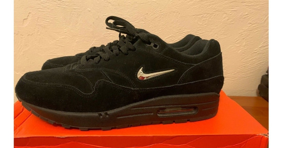 Nike Air Max One Jewel Triple Black&silver 43br