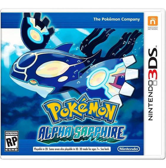 Pokemon Alpha Sapphire - Usa - Carta Registrada