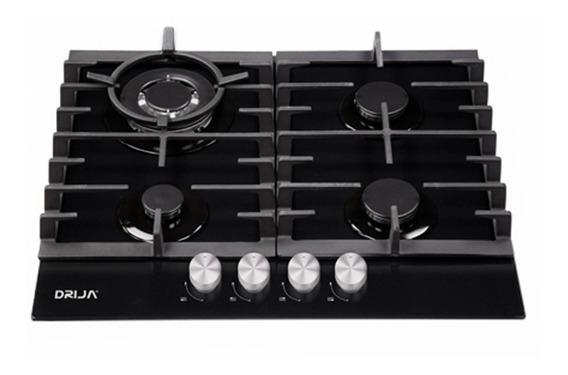 Cocina 4 Hornillas Tope Empotrable A Gas Toscana 60cm Drija