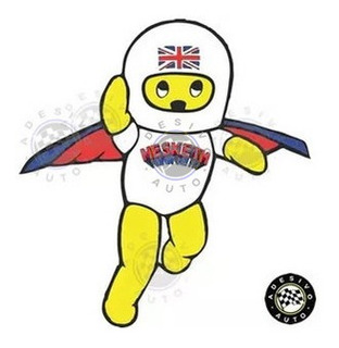 Adesivo Hesketh Racing Mascote A Pronta Entrega