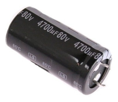 Capacitor Eletrolítico 4700 X 80v 105 Graus Chip Sce - 80-10