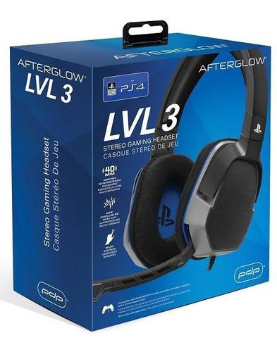 Audifonos Con Microfono Gaming Gamer Con Iluminacion Ps4