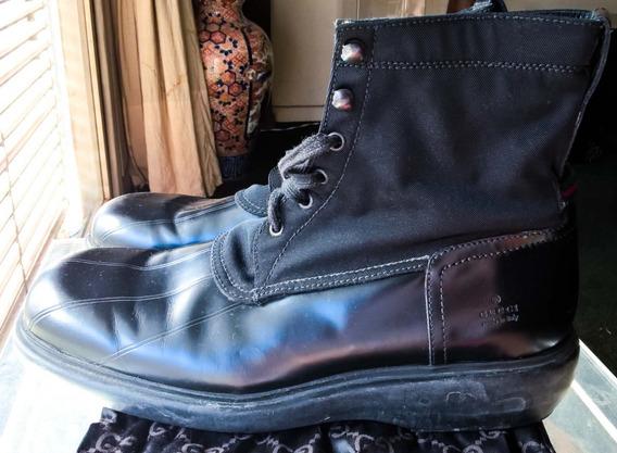 Zapatos Botas Gucci Cuero 100% Original Italy