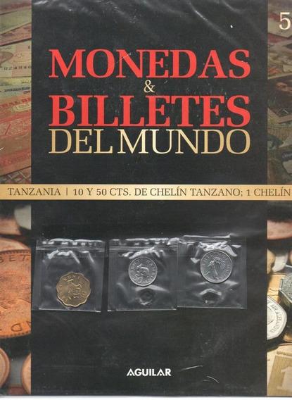 Fasciculo Monedas Y Billetes Del Mundo 3 Monedas De Tanzania