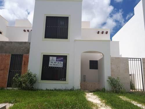 Casa En Renta En Cancun 3 Rec 2 Baños Gran Santa Fe Iii