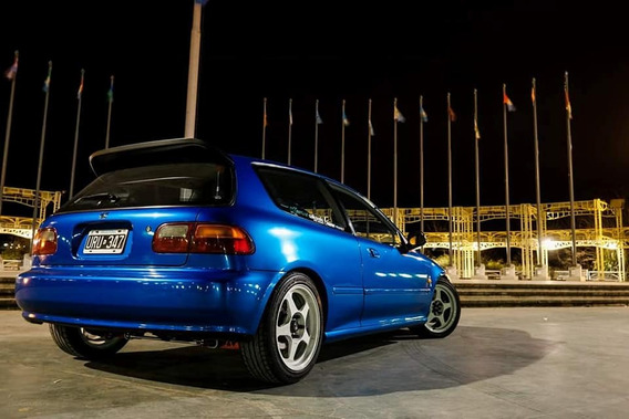 Honda Civic 1.6 Si Hatchback Turbo 256 Whp @ 16 Psi