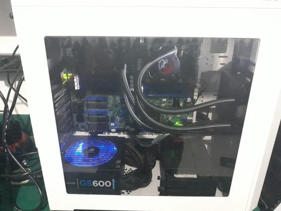 Pc Gamer Dual Xeon - 32 Gb Ram - 2 Water Cooler - Ssd 120