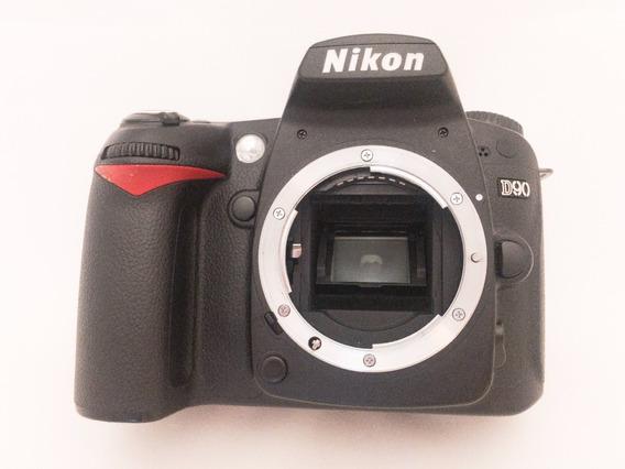 Camera Dslr Nikon D90 Usada (apenas Corpo)