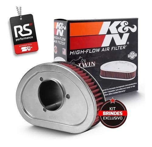 Filtro De Ar Esportivo K&n Harley Fxdl / Fxdwg / Fxdf / Fld