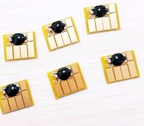 Chip Full Hp 72 Plotter Auto Reset Jg 6 Cores