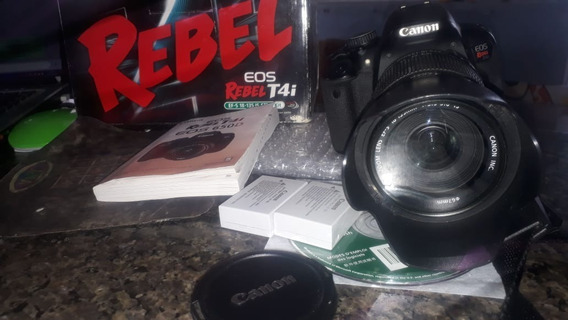Canon T4i + Lente 18-135mm +2 Baterias + Caixa