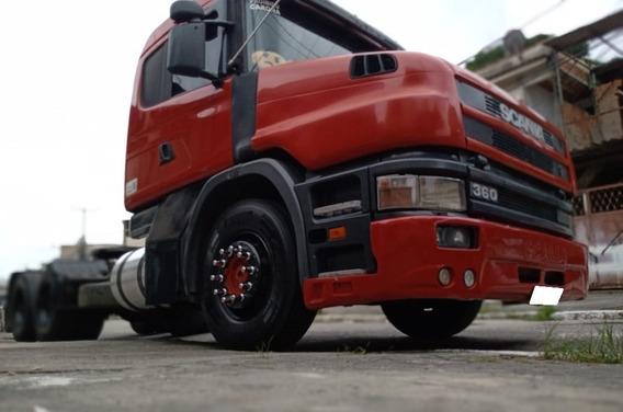 Scania T124 360 6x2 Ano 2000