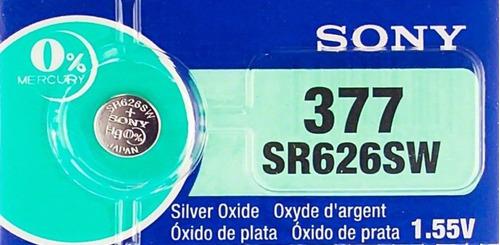 Pila Sony 377/626 Unidad (1)  Original Distribuidor Oficial