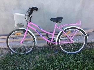 Bicicleta De Paseo Viaggio 24 Mujer