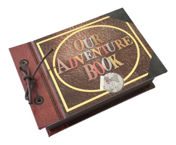 Caja Para Anillo De Compromiso Our Adventure Book