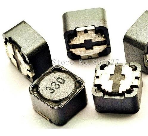 3 X Indutor 33uh 3a Smd Descrição 330 12x12x7mm