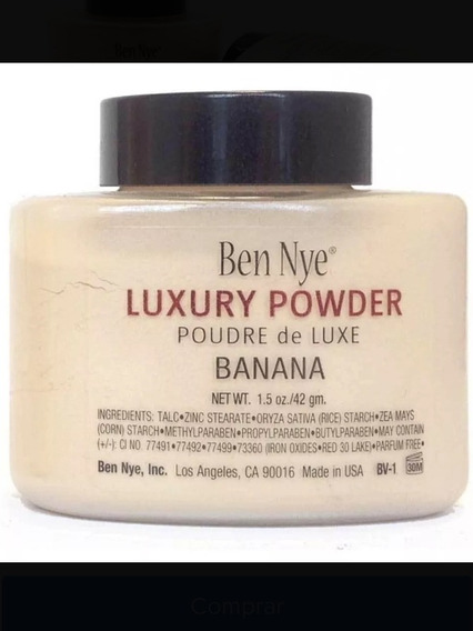 Polvo Suelto Banana Luxury Powder Tono Bv-1 De 42 Gr Ben Nye