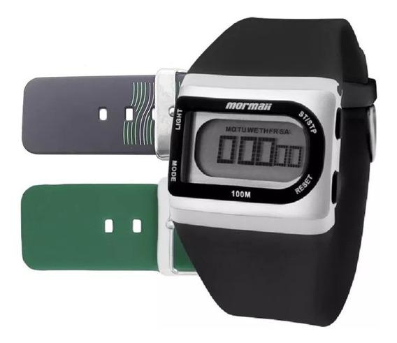 Relógio Mormaii Unissex Fzg/t8l Troca Pulseira