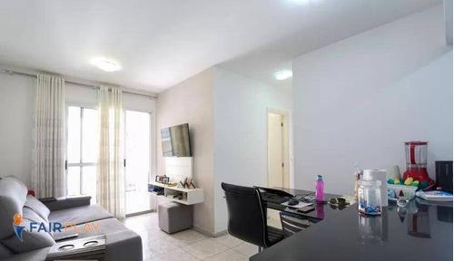 More Próximo Da Estação Giovanni Gronchi 68 M² 3 Dormitórios 2 Vagas - Ap6161