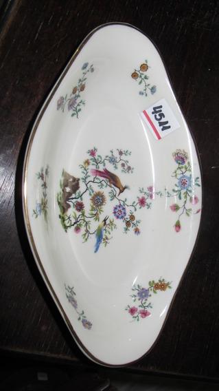 Antigua Rabanera De Porcelana Francesa Limoges