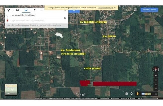Eldorado Misiones Km 13 Loteo Jossi Residencial Lotes 15x30