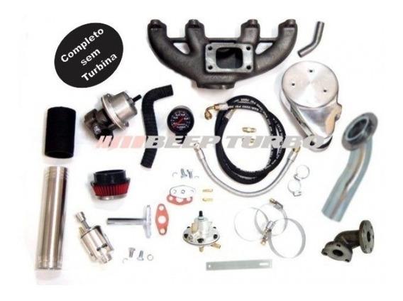 Kit Turbo Vw Motor Ap Transversal Monoponto (cli) - Sem Turbina