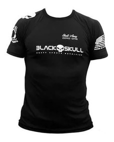 Camiseta Dry Fit Bope - Black Skull