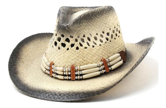 Sombrero Cowboy Mujer Bijou Playa Verano Pampita