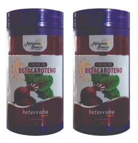 2 Cremes Betacaroteno Melanina Bronze 1 Kg Bronzeamento